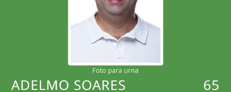 Adelmo Soares é o primeiro candidato a ter sua candidatura deferida.