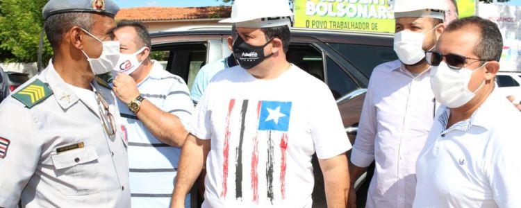 Caxias: Adelmo Soares cumpre agenda intensa vistoriando importantes obras