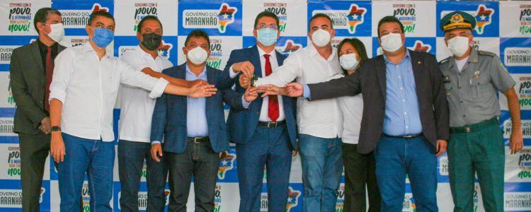 Segurança Pública: Adelmo Soares viabiliza viaturas para vários municípios maranhenses