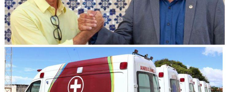 Data marcada para entrega: Deputado Adelmo Soares garante ambulância para o município de Esperantinópolis.