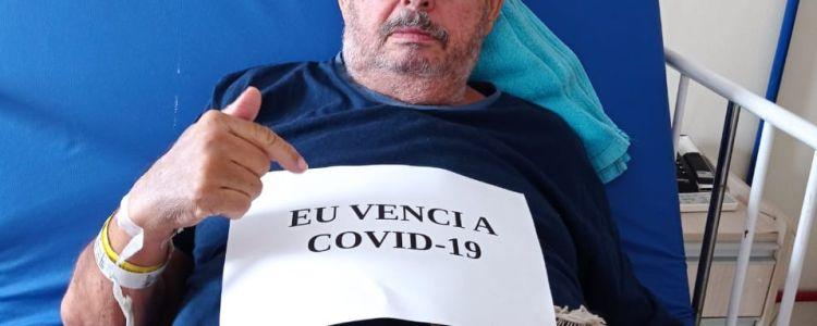 Pai e Mãe de deputado Adelmo Soares recebem alta após vencerem o COVID-19.