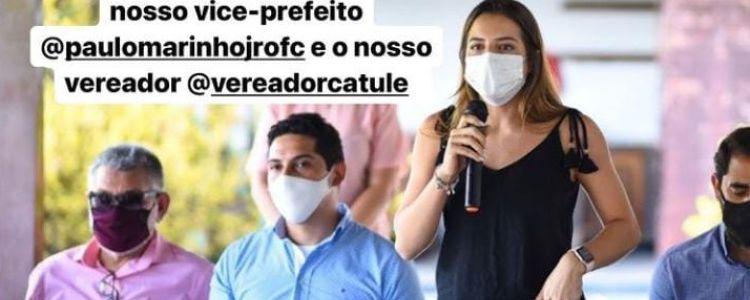 Fábio Gentil tenta neutralizar Família Marinho.