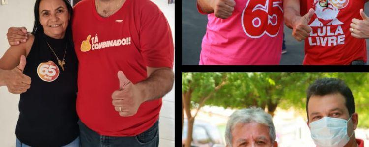 Candidatos abandonam Fábio Gentil e declaram apoio a Adelmo Soares.